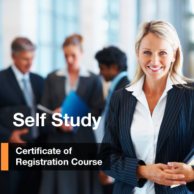 Certificate of registration course Self Study