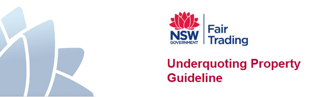 NSW Government – New Underquoting Guidelines Released